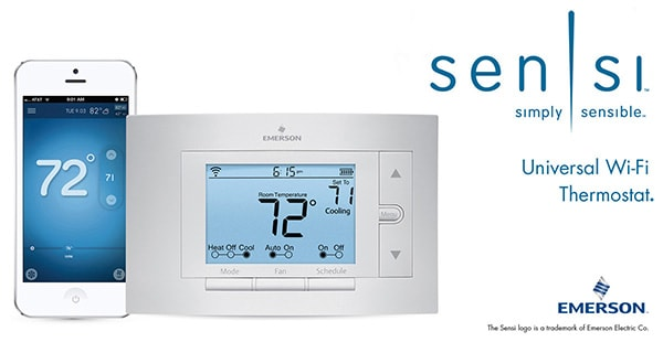 whiterodgers sensi emerson thermostat devices