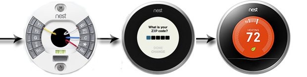 Nest Learning Thermostat 2nd Generation T2005771 Set-Up Guide