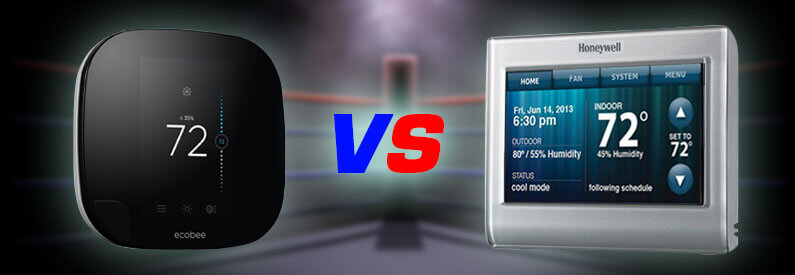 Honeywell Vs Ecobee3 2017  Comparing Two Of The Best