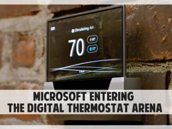 microsoft enter smart thermostats world