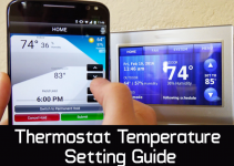 Thermostat temperature setting manual