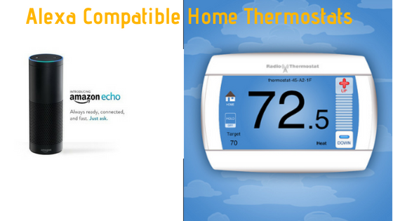 Best Alexa Enabled Thermostats