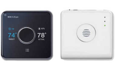 Hive Heating and Cooling Smart Thermostat Pack, Thermostat + Hive Hub