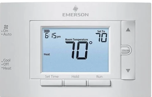 How To unlock emerson thermostat